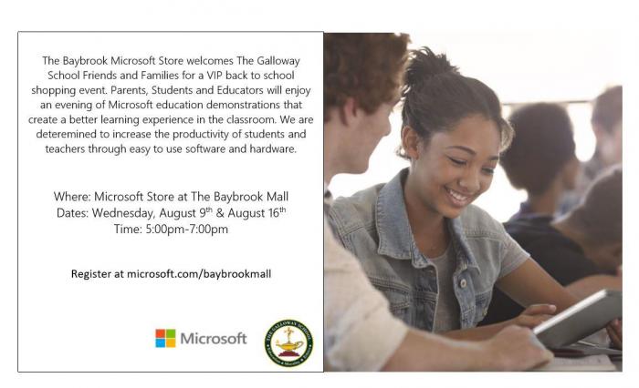Microsoft Flyer