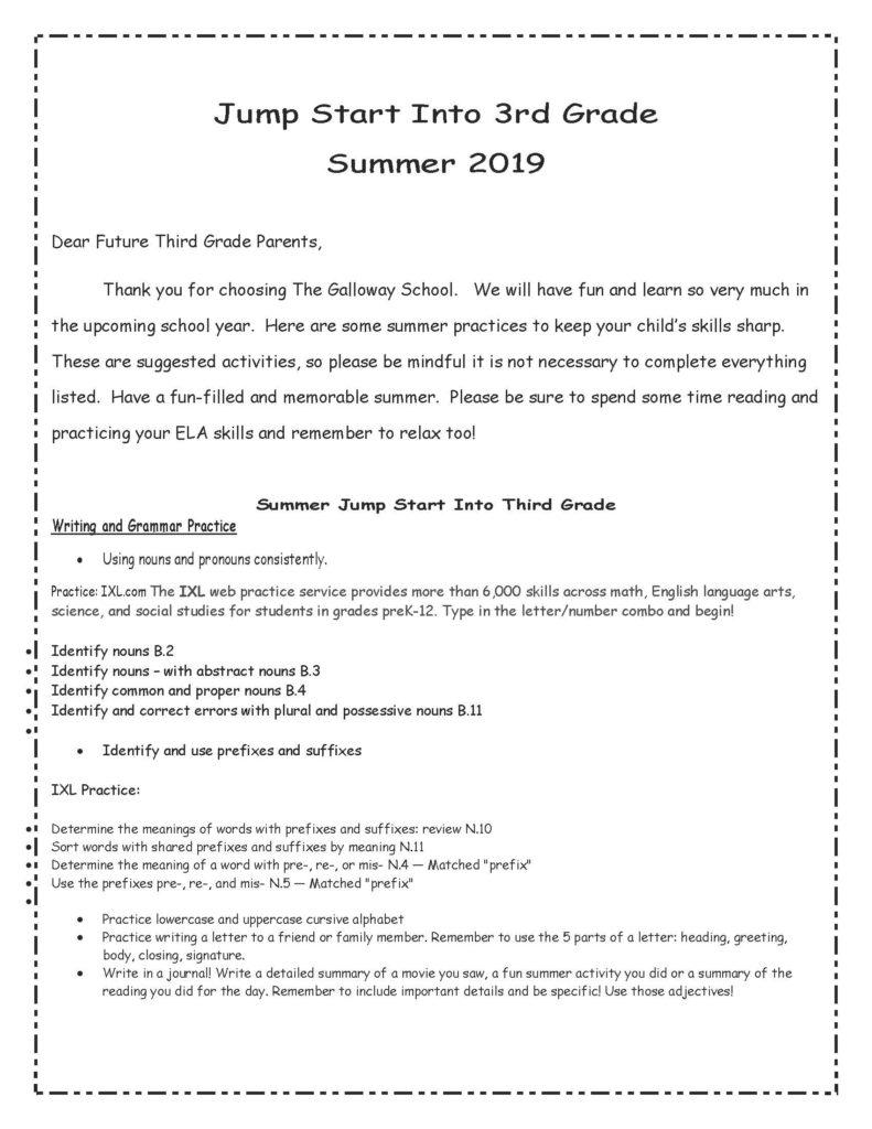 Summer Learning -